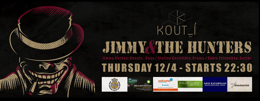 Jimmy & The Hunters Blues Band @Κουτ_ί ΠE 12/4